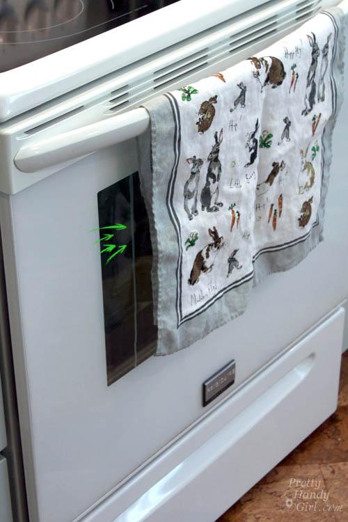 How To Clean Inside Your Oven Door Pretty Handy Girl