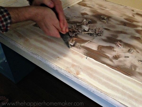 scraping paint citristrip