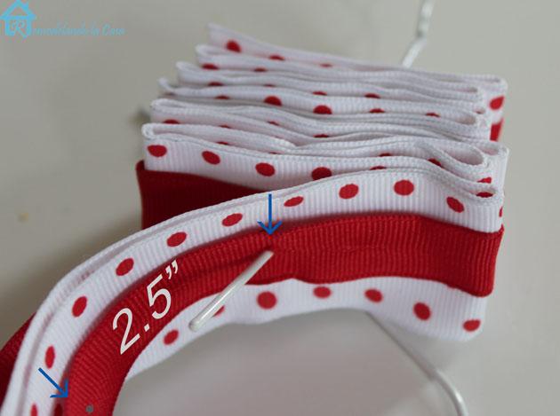 spacing ribbon holes