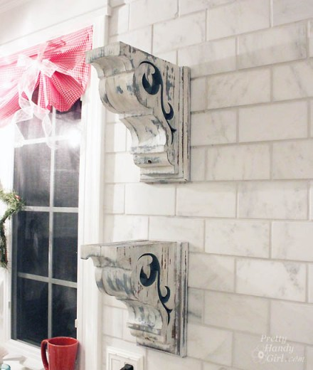two-corbels-installed