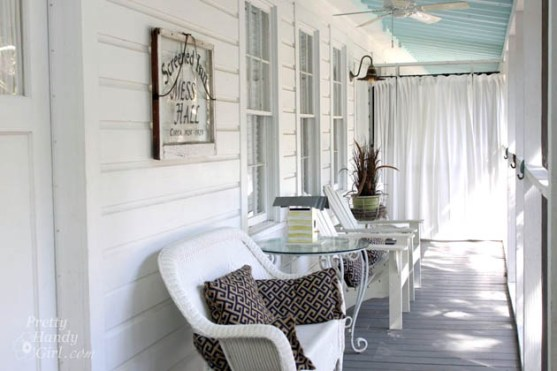 Screened Inn - Mermaid Cottages Tours | Pretty Handy Girl