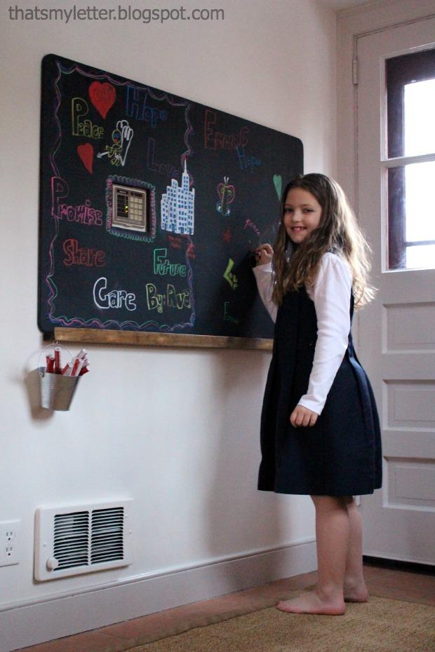 chalkboard with ledge 2