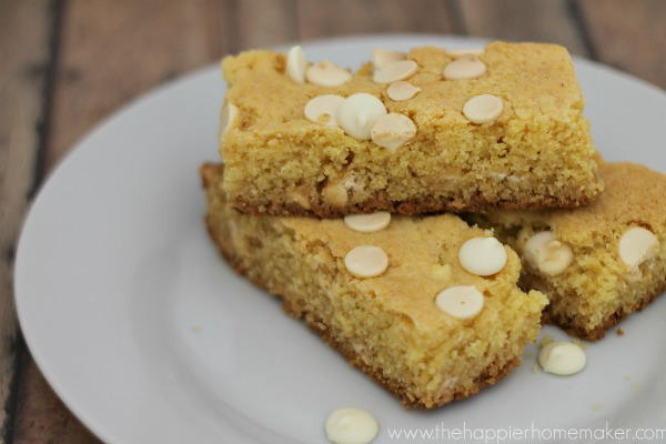 Gifts from your Kitchen - White Chocolate Cookie Bars