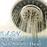 How to Easily Install a New Shower Head