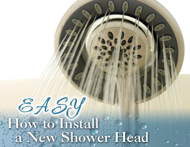 Easy! How to Install a New Showerhead | Pretty Handy Girl