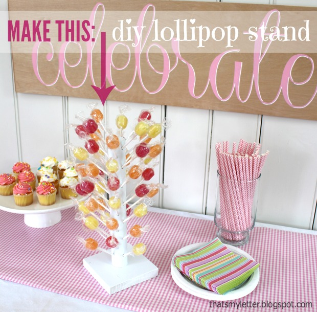 lollipop stand