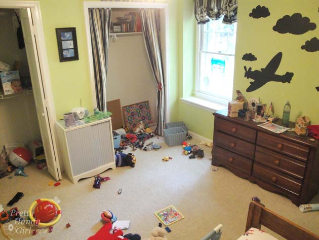 Boy's Room Before | Pretty Handy Girl