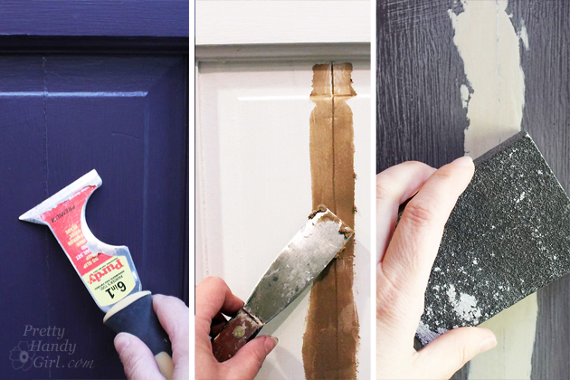 How to Strip Paint Off a Door | Pretty Handy Girl