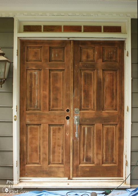 How To Stripint Off A Door Pretty Handy Girl