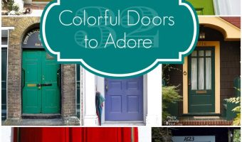 32 Colorful Doors