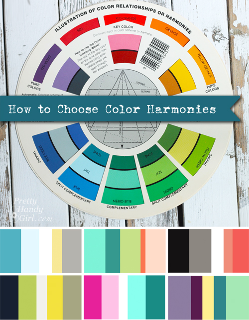 How to Choose Color Harmonies | Pretty Handy Girl