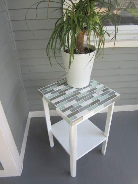 How to Tile a Small TABLETOP