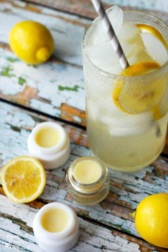 DIY Lemonade Lip Balm   Pretty Handy Girl