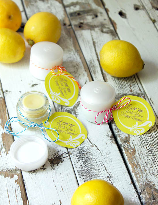 DIY Lemonade Lip Balm | Pretty Handy Girl