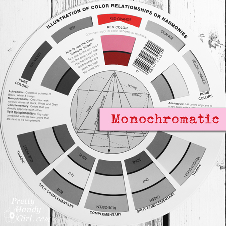 Monochromatic Palette | Pretty Handy Girl