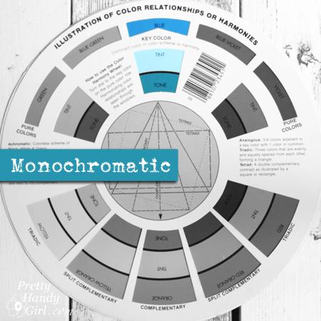 Monochromatic Palette | Pretty Handy Girl