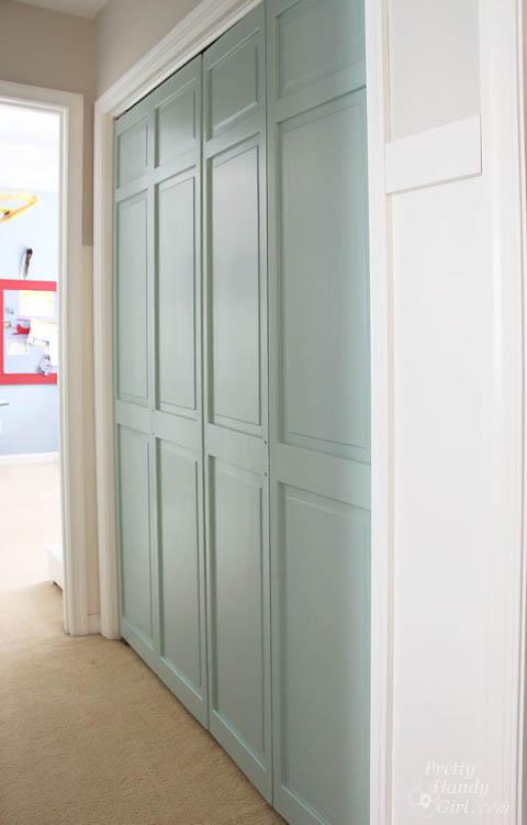 How To Trim Amp Install Closet Doors Dremel Ultra Saw