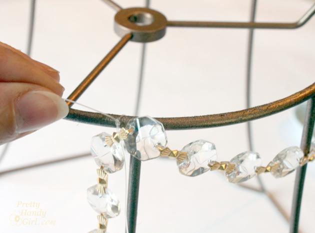 DIY Button Pendant Light |Pretty Handy Girl