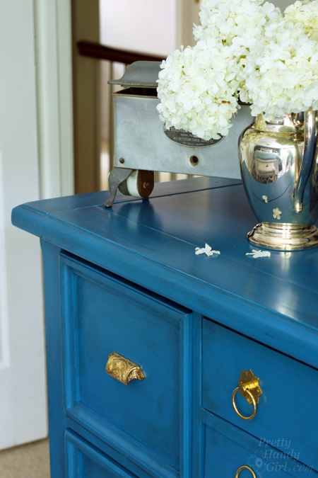 Facelift for a Knotty Pine Dresser | Pretty Handy Girl