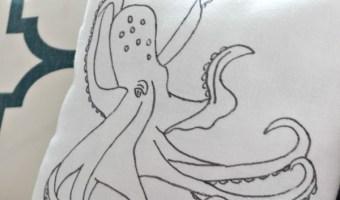DIY Octopus Pillow