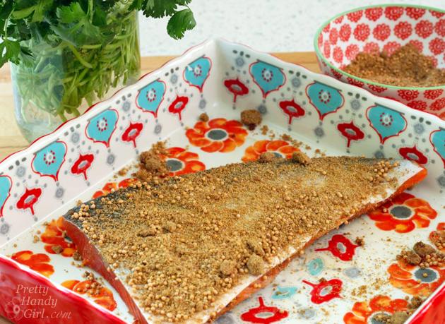 Spice-Rubbed Salmon Recipe   Pretty Handy Girl