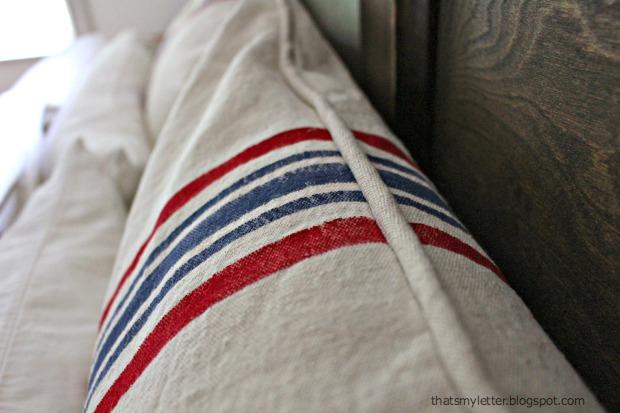 striped euro shams 1