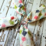 Sew Easy Anthropologie Cloth Napkin Gift Bags | Pretty Handy Girl