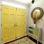Good Day Sunshine – Yellow Painted Doors