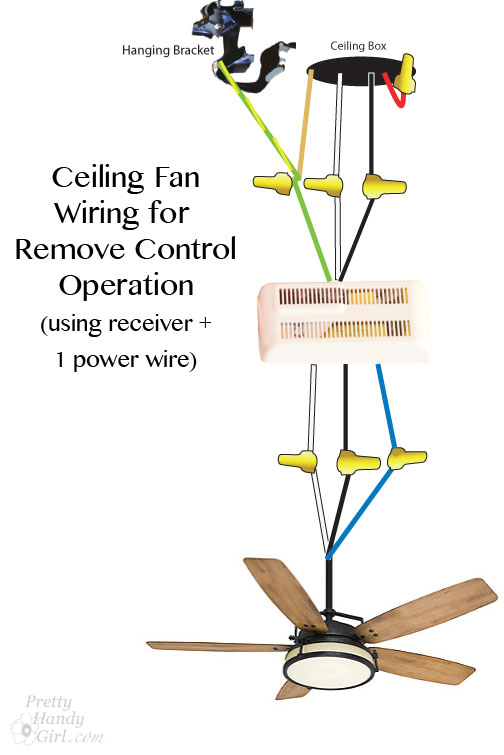 harbor breeze fan switch diagram electric light wiring how to install a ceiling - pretty handy girl