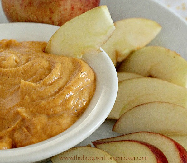 peanut butter pumpkin dip recipe fruit