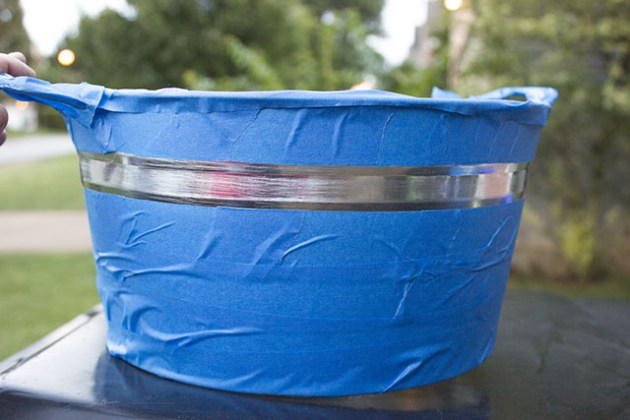 tape off bucket
