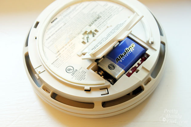 Smoke Detector Maintenance | Pretty Handy Girl