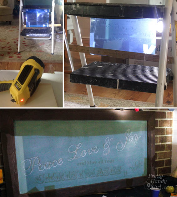 Build Your Own Giant Chalkboard | Pretty Handy Girl