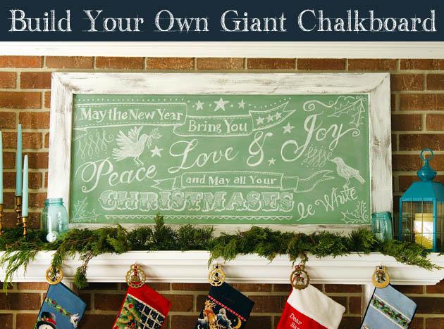 Build Your Own Giant Chalkboard | Pretty Handy Girl