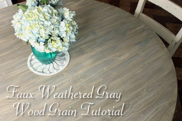 DIY Restoration Hardware Weathered Gray Stain Recipe