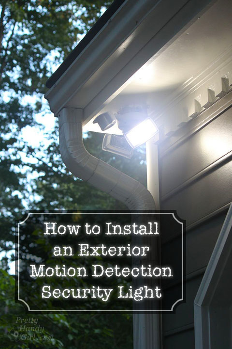Wiring Diagram Security Light