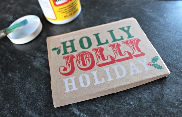 paper bag ornament step 3