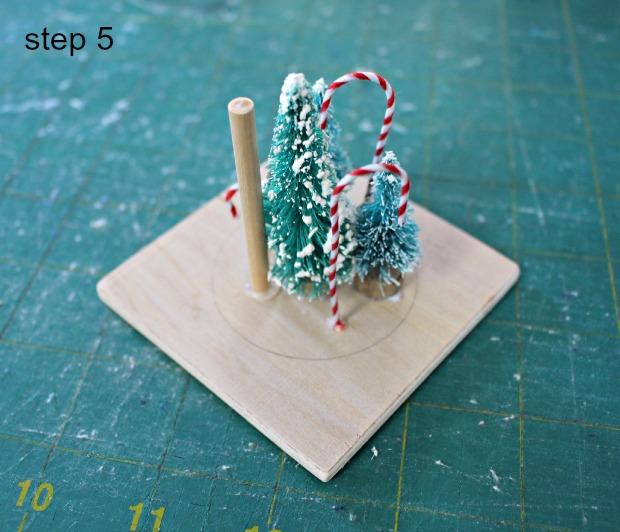 snowglobe ornament step 5
