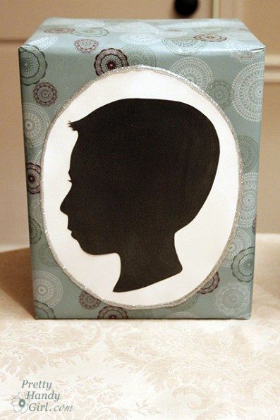 Silhouette Gift Wrap