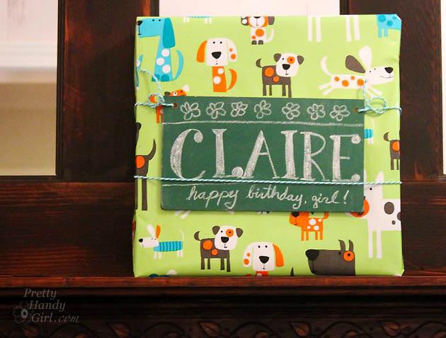 Chalkboard Gift Tags | Pretty Handy Girl