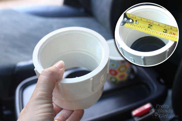 Auto Cup Holder Extender | Pretty Handy Girl