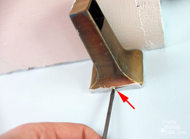 How to Securely Install a Towel Bar | Pretty Handy Girl