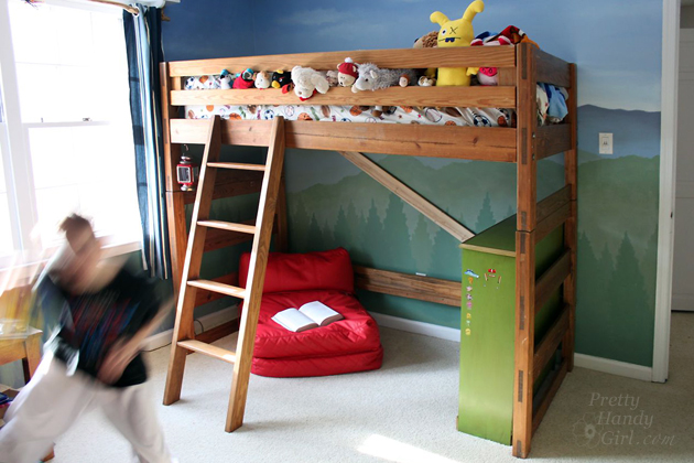 How To Turn A Bunk Bed Into A Loft Bed