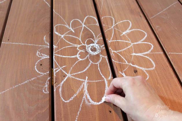 How to Paint a Deck Mandala Tattoo | Pretty Handy Girl
