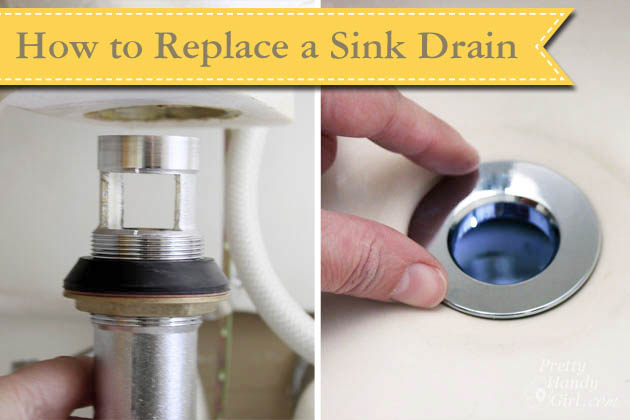 How to Replace a Sink Drain | Pretty Handy Girl