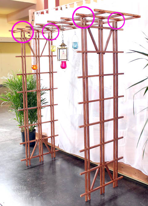 Build a Temporary Pergola with Trellises | Pretty Handy Girl