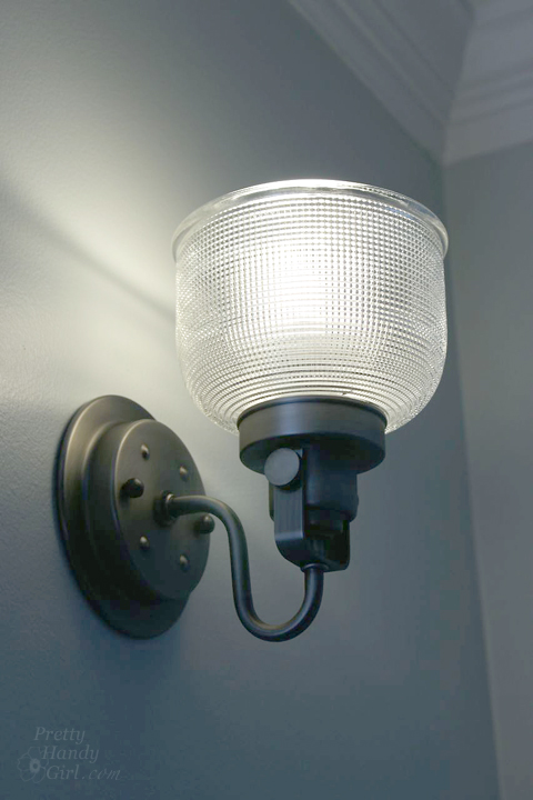 How to Install a Wall Sconce | Pretty Handy Girl
