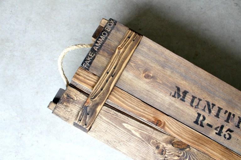 DIY Decorative Ammo Box
