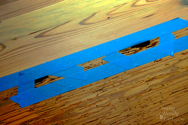 How To Fill Voids And Knot Holes In Wood