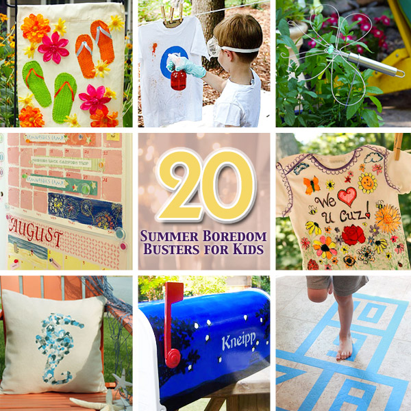 20 Summer Boredom Busters for Kids | Pretty Handy Girl